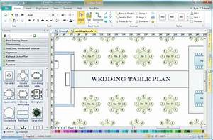 event planning tools templates - table plan software