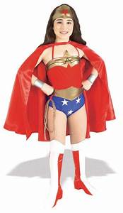Girl's Wonder Woman Costume - Kids Costumes