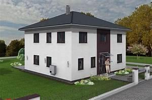 Stadtvilla 300 Qm : stadtvilla 178 qm wohnfl che auf bodenplatte ~ Lizthompson.info Haus und Dekorationen