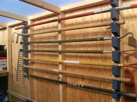 garden tool wall storage 16 genius garden tool organization ideas