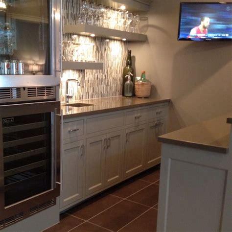 Basement Bar Fridge cool basement bar with mini fridge and corian counter