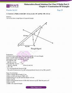 Msbshse Solutions For Class 9 Maths Part 2 Chapter 4
