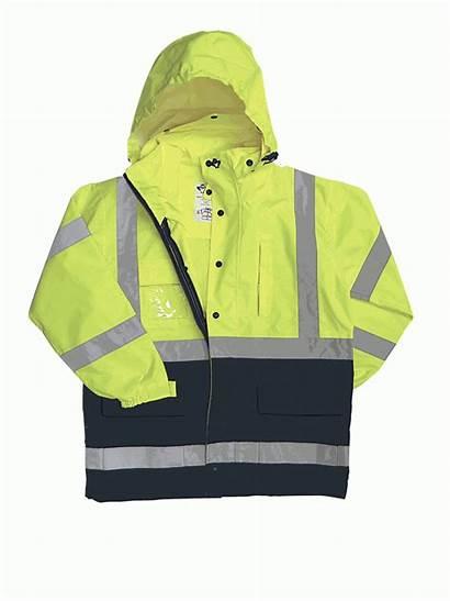 736c Class Rain Waterproof Lime Parka 2w