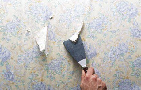 Décoller Tapisserie Facilement by Peindre Sur Du Papier Peint Mode D Emploi Travaux
