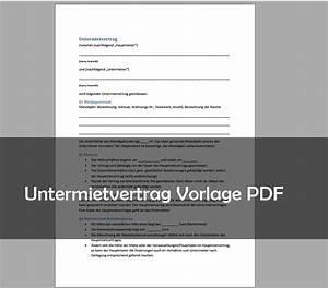 Mietvertrag Kostenlos Pdf : untermietvertrag muster vorlage pdf download giga ~ Frokenaadalensverden.com Haus und Dekorationen