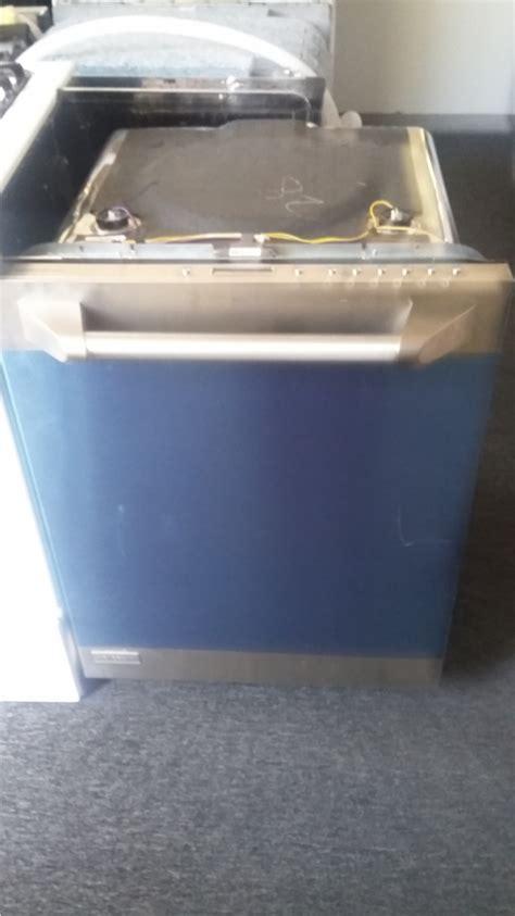 ge monogram stainless steel dishwasher  stainless basin   stock kimos appliances van