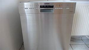 Siemens geschirrspuler spulmaschine sn45n582eu youtube for Simens spülmaschine