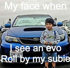 evo subaru meme 1000 images about humor on pinterest subaru car humor