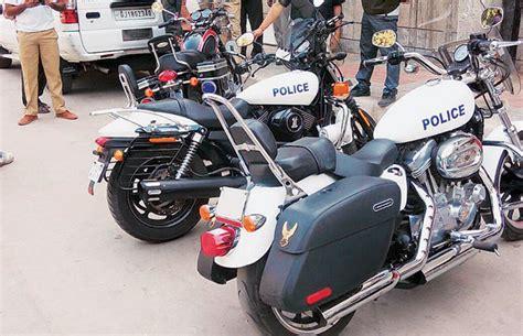 Gujarat Police To Ride Harley-davidson Super Bikes