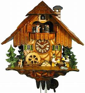 Cuckoo Clock 1-day-movement Chalet-Style 35cm by August ...
