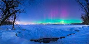 A Wisconsin Winter Night - Adam Dorn Photo