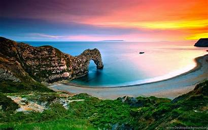 Landscape Landscapes Beach Wallpapers Desktop Background Ocean