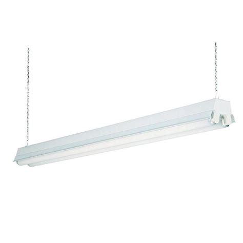 fluorescent shop lights lithonia lighting 2 light white t8 fluorescent residential