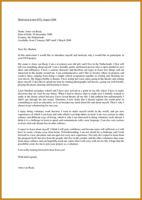 bursary motivation letter exle image collections