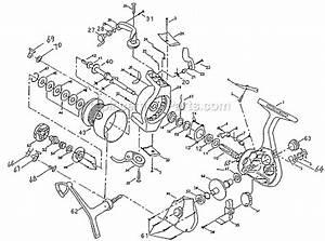 Shakespeare 2440 Parts List And Diagram   Ereplacementparts Com