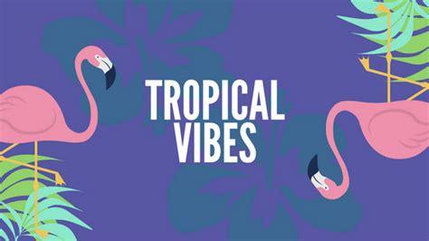 customize  tropical desktop wallpaper templates