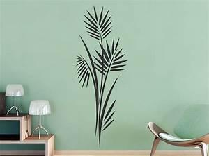 Pflanzen Für Flur : wandtattoo moderner bl tterstrauch von ~ Bigdaddyawards.com Haus und Dekorationen