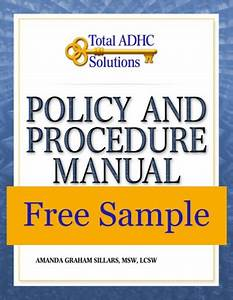 How To Write Policy And Procedure Manuals