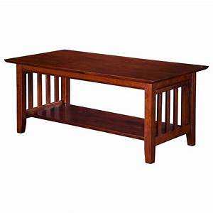 mission coffee table walnut ah15204 With mission coffee table set