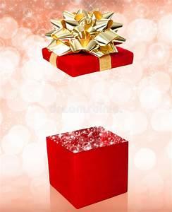 Open Gift Box Surprise Stock Photo  Image Of Birthday
