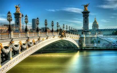 4k Paris Landmarks French Iii Hdr Bridge