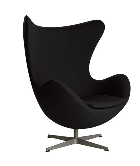 bureau en cuir fauteuil oeuf design arne jacobsen pour fritz hansen la