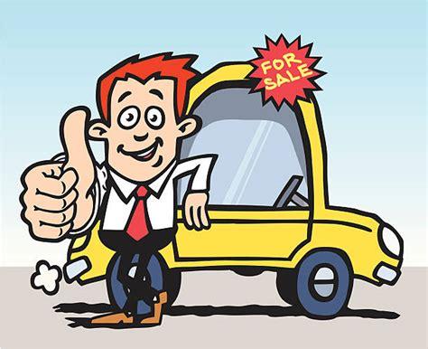 Car Salesperson Clipart Collection