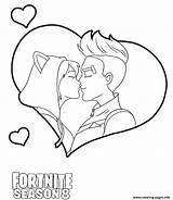 Fortnite Drift Coloring Kiss Dessin Coloriage Printable Imprimer Gratuit Carnaval sketch template