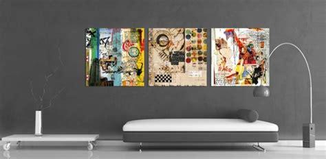 couleur de peinture pour chambre a coucher design d 39 intérieur stylé avec le tableau triptyque