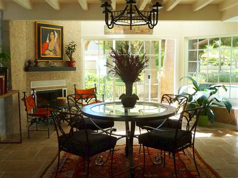 dining room design  southwest style  dining room ideas