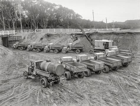 construction zone  shorpy   vintage