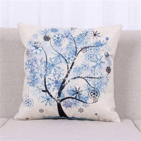 Country Style Throw Pillow Case Vintage Sofa Waist Cushion