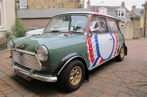 Historic Rally Prepared Mini Sold (1963) On Car And