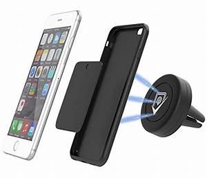 Attache Portable Voiture : aimant pour portable voiture auto moto ~ Nature-et-papiers.com Idées de Décoration