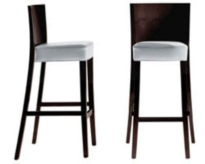 chaise bar hauteur assise 65 cm chaise de bar neoz h 75 cm assise rembourrée tissu acajou ebène driade