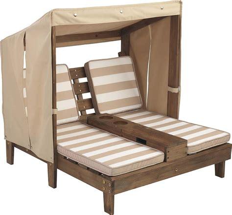 Double Chaise Longue Enfant Avec Portegobelets (coloris 2