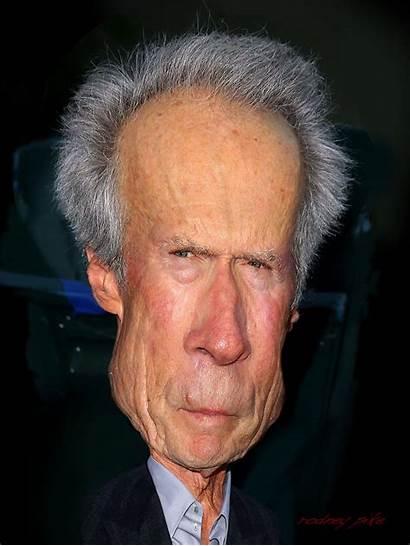 Clint Eastwood Caricature Rodney Pike Illustrator Study