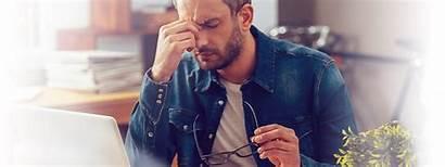 Radar Stress Tired Eyes Sick Frustrated Feeling