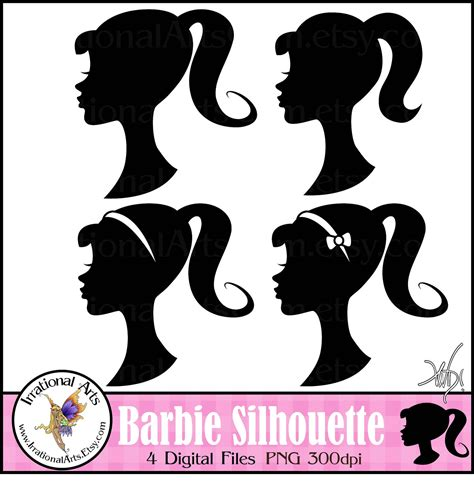 barbie clipart outline clipground