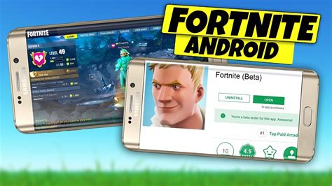 fortnite mobile android beta  release date