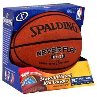 spalding  flat basketball outdoor full size