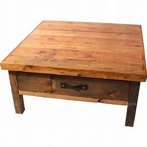 Coffee tables ideas rustic square coffee table design for White rustic square coffee table