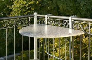 werzalit balkon videx balkon klapptisch quot werzalit quot tischplatte marmor halbrund ebay