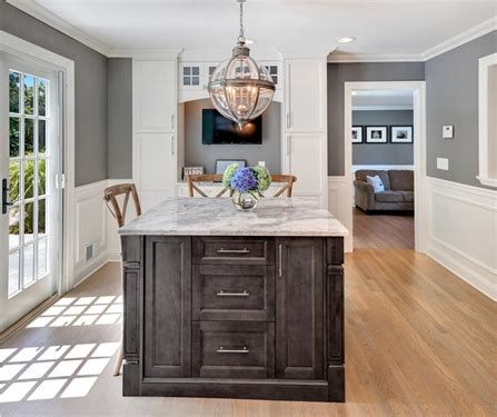 timeless grey  white kitchen middletown  jersey
