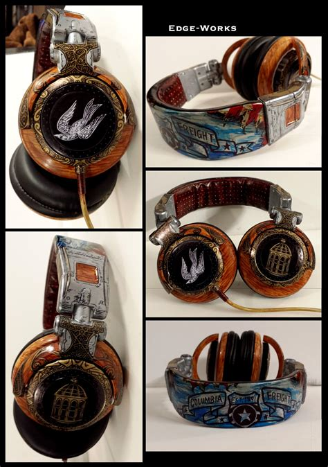 Bioshock Infinite Headphones By Edge Works On Deviantart