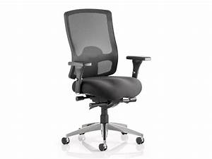 Dynamo Regent Ergonomic Mesh Task Chair in Black