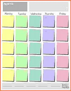 monday through friday schedule pictures to pin on With 10 day calendar template