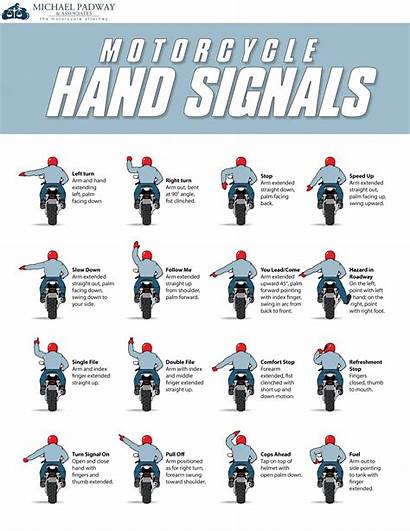 Motorcycle Safety Tips Signals Told Ever Hand