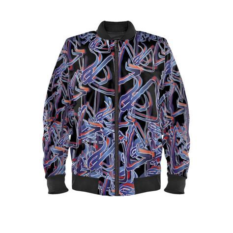 Artist SG Bomber Jacket Design No1 Blue.