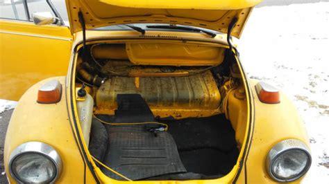 1978 Volkswagen Super Beetle Base Convertible 2-door 1.6l